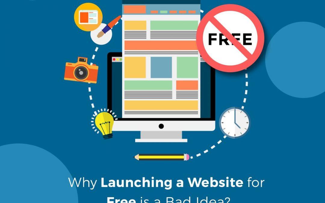 20 raisons pour lesquelles avoir un site Web gratuit est une mauvaise idée