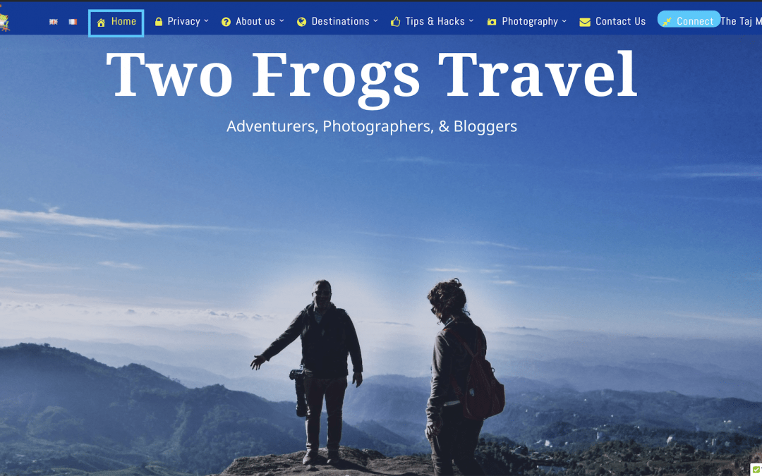Two Frogs Travel Blog